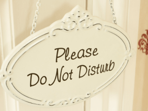 eliminate disruptions to be more productive