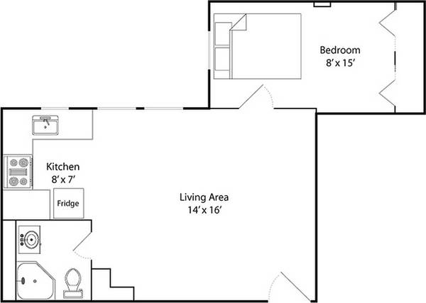 one bedroom dc apartment for rent