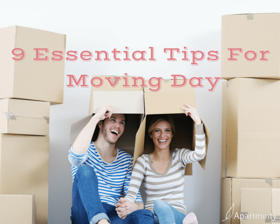 9 Essential Tips for Moving Day