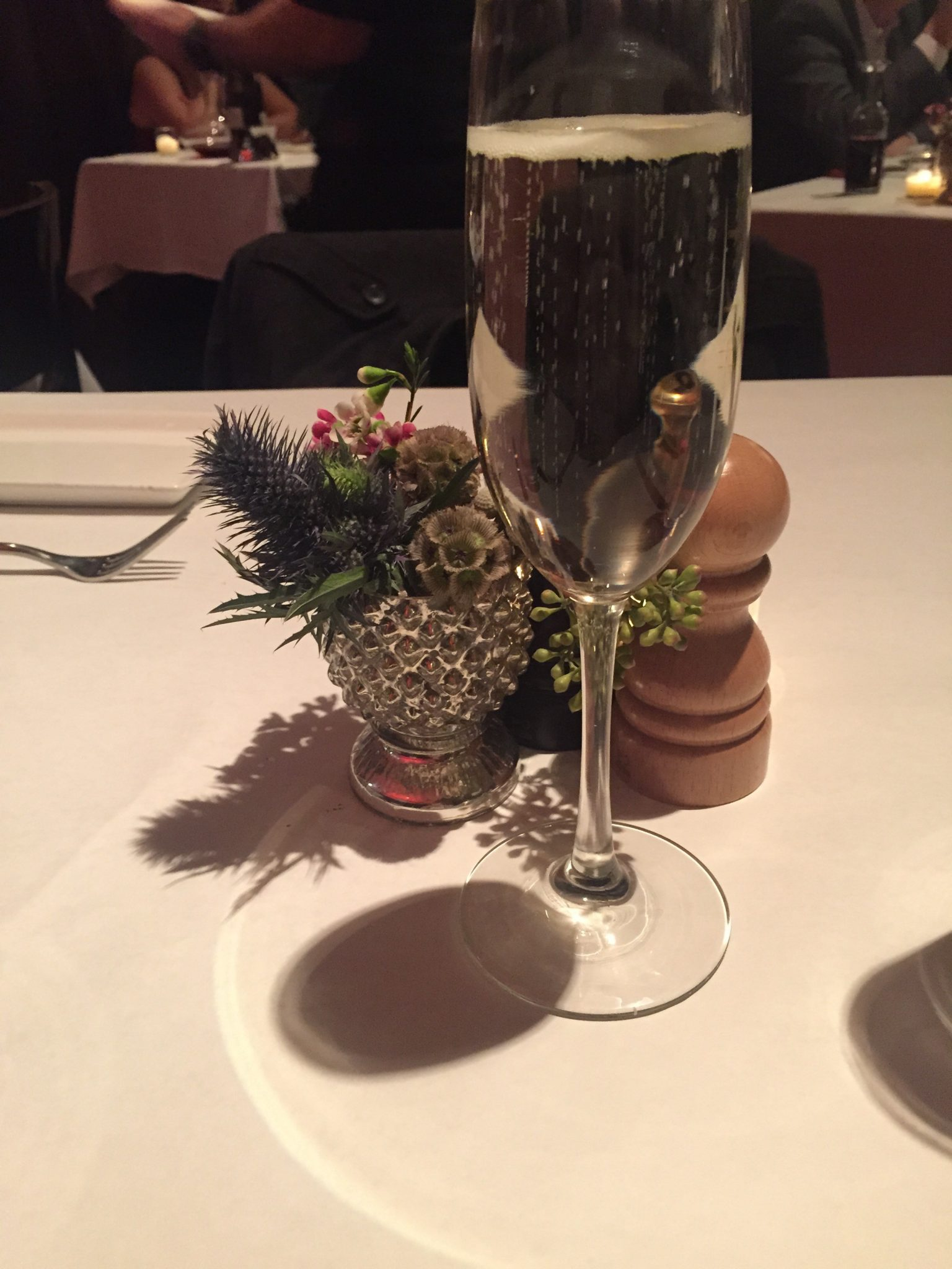 Champagne toast | The Gage Restaurant in Chicago