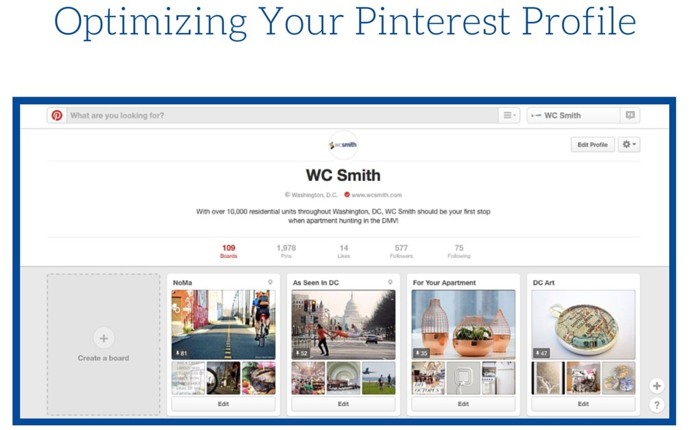 How to Become a Pinterest Master | Optimizing Your Pinterest Profile