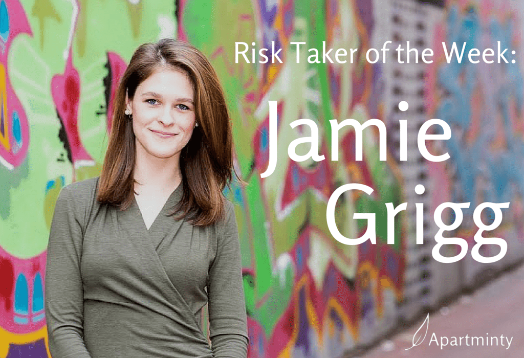 Risk Taker of the Week: Jamie Grigg