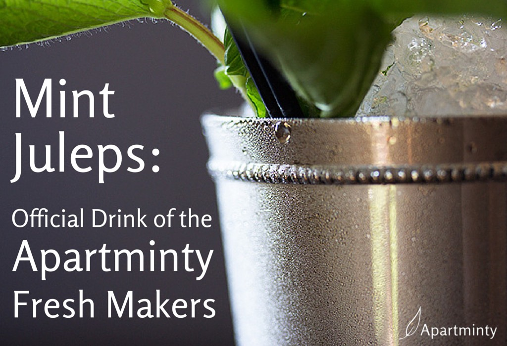 Mint Juleps: Official Drink of the Apartminty Fresh Makers…and the Kentucky Derby