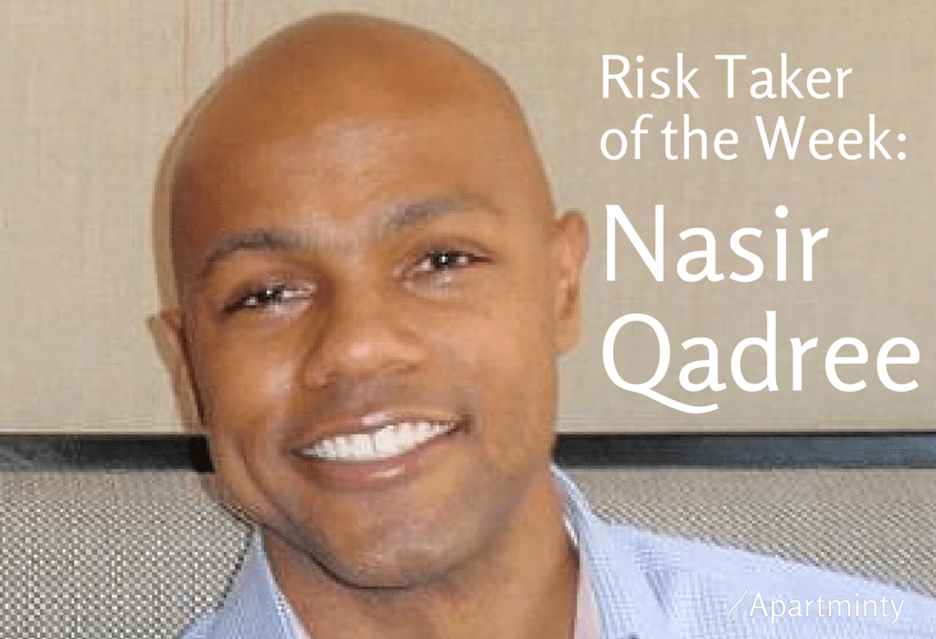 Risk Taker of the Week: Nasir Qadree