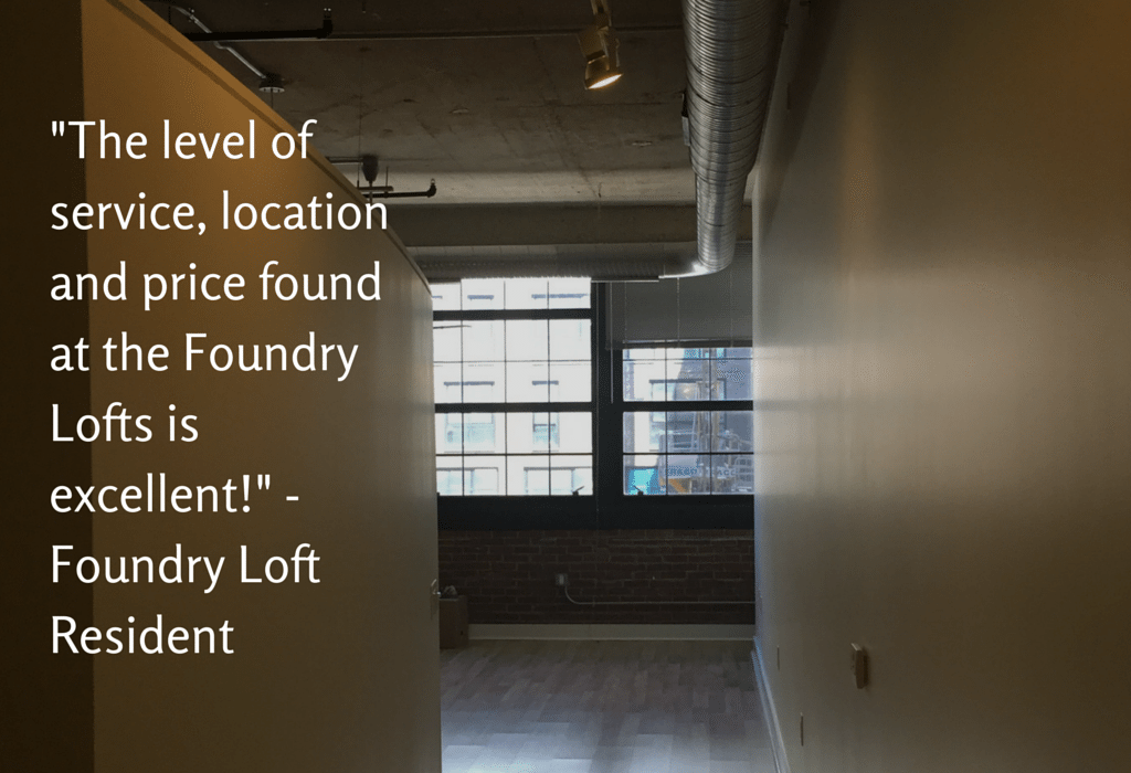 Foundry Lofts - Resident Review
