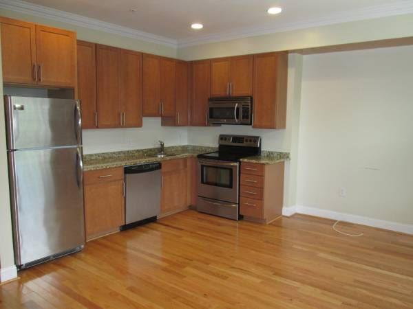 Truly Pet Friendly Apartment in Petworth | Kitchen with Stainless Steel Appliances