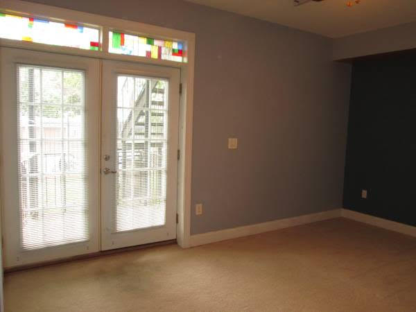 Truly Pet Friendly Apartment in Petworth | French Doors with Stained Glass