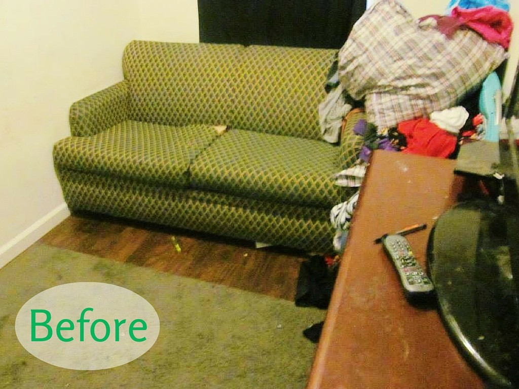 Honoring Our Company Values | My Girlfriend's House Makeover Before Photo