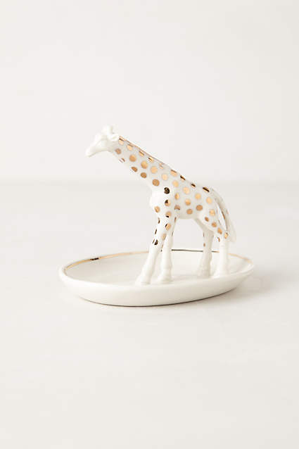 Apartminty Fresh Picks | Take A Walk On The Wild Side | Giraffe Trinket Dish