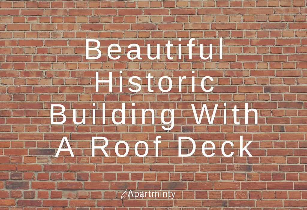 Beautiful Historic Building With A Roof Deck