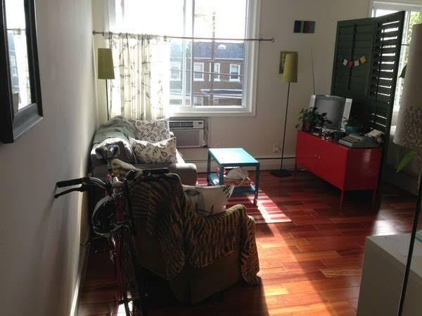 Brookland Studio For Rent | Living Area and Large Windows