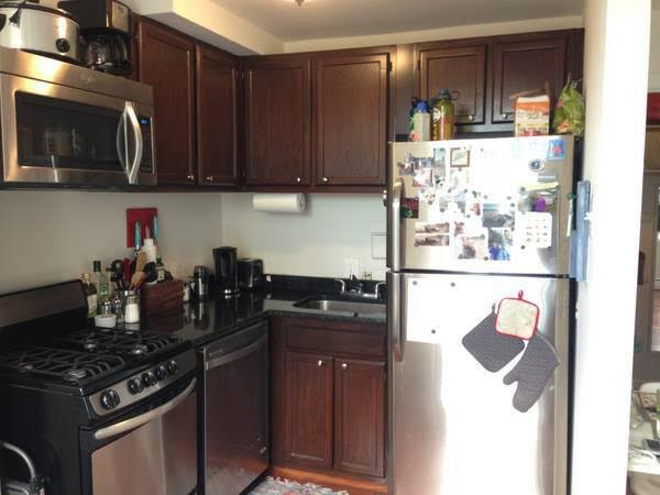 Brookland Studio for Rent | Kitchen with Stainless Steel Appliances