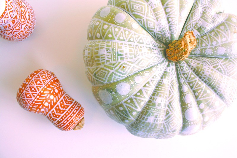 no-carve-pumpkin-decorating-ideas