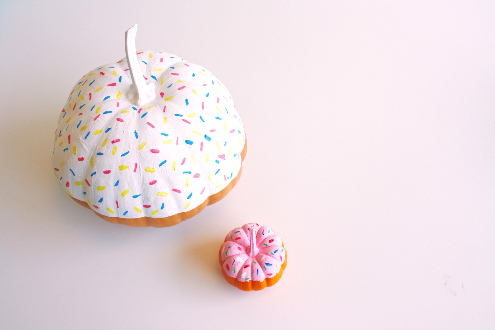 Donut Pumpkin | No-Carve Decoration