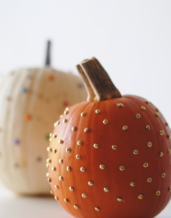 Studded Office Brad Pumpkin | From A Subtle Revelry