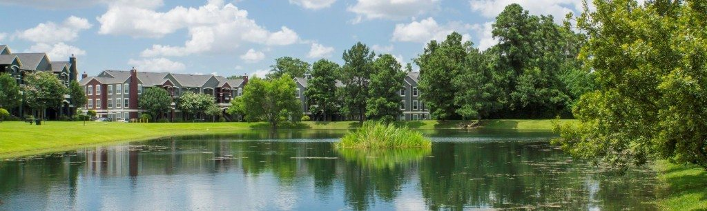 Retreat at Cypress Station Apartments: Landscape