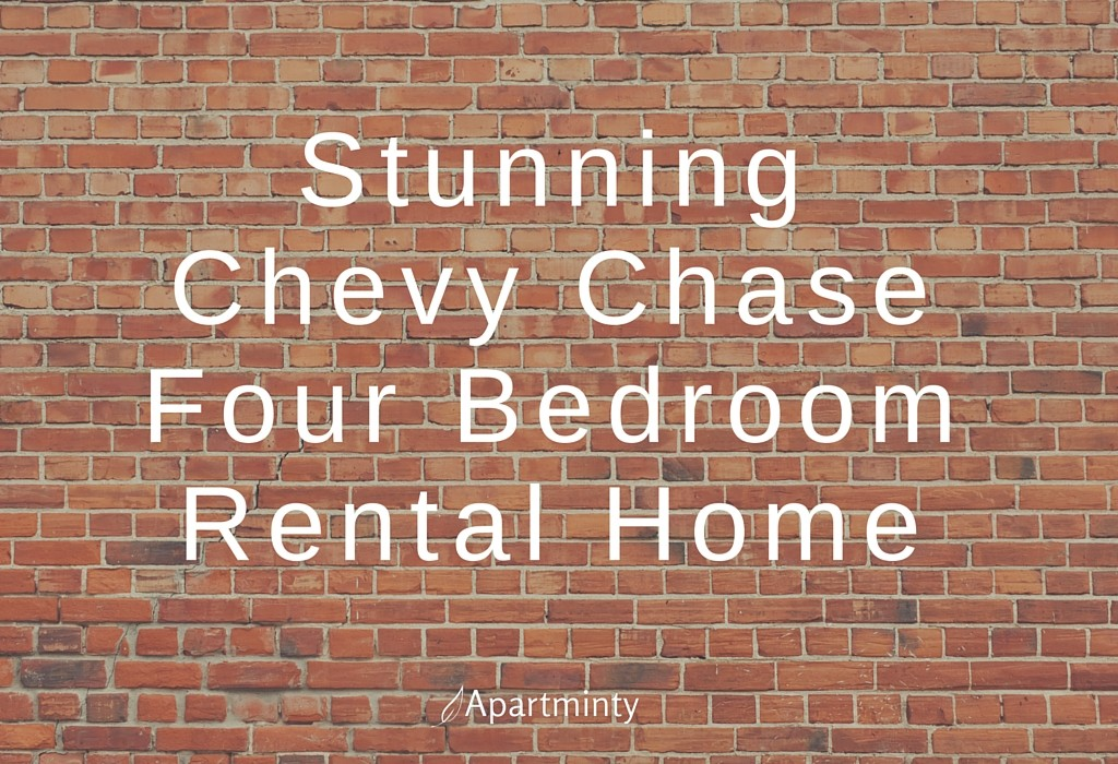 Stunning Chevy Chase Four Bedroom Rental Home