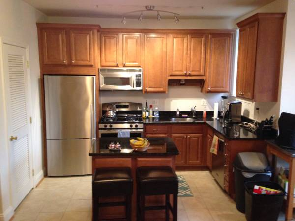 Open Concept Two Bedroom In Columbia Heights | Washington DC Apartments For Rent | Kitchen With Stainless Steel Appliances