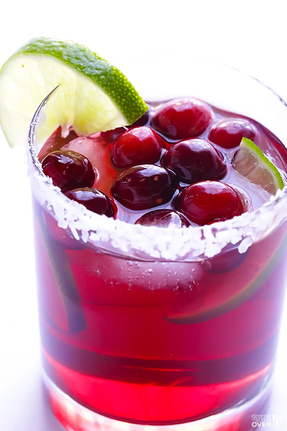 Cranberry Margaritas | Holiday Cocktail |Holiday Cocktail Recipes for Every Taste