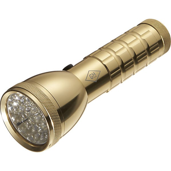 Holiday Gift Guide | What to Buy For Your Practical Friend | Brass Flashlight