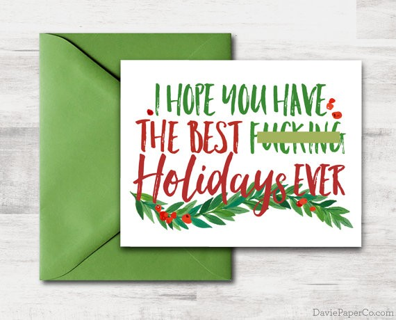 Holiday Gift Guide: Playful Presents | Mature Holiday Card