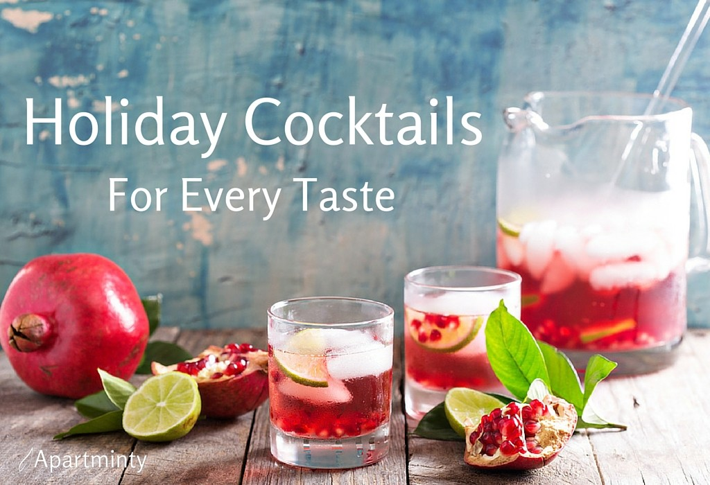 Holiday Cocktail Recipes for Every Taste