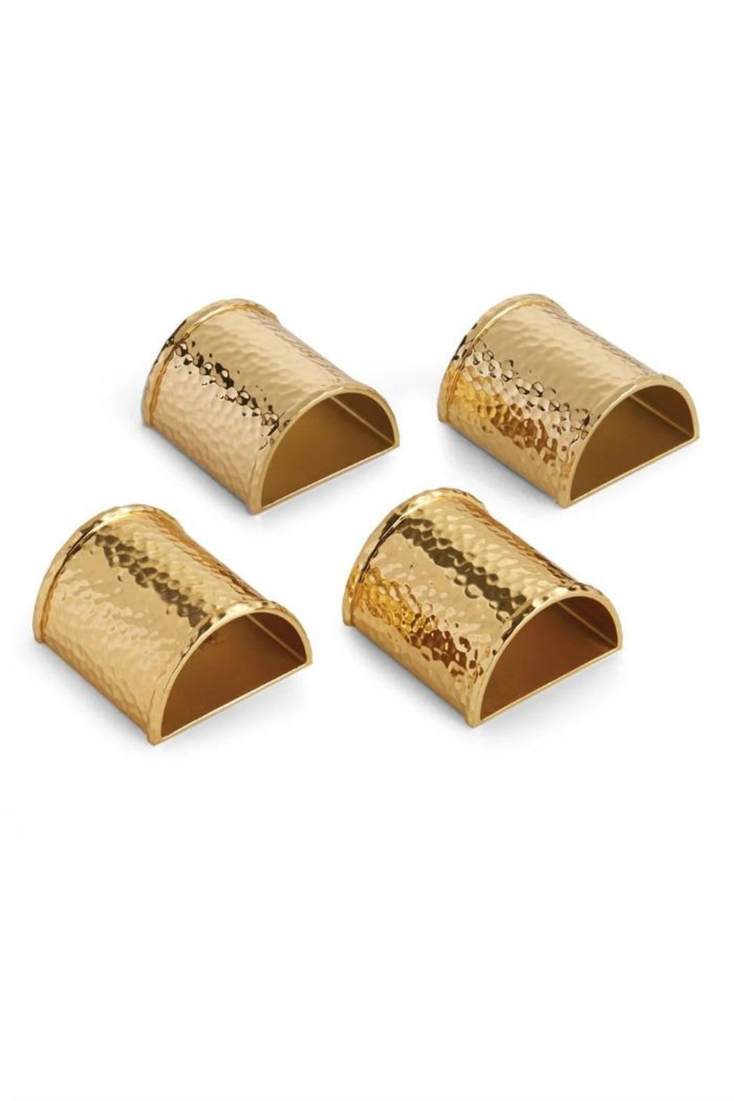 Michael Aram Napkin Rings | Decorating Your Thanksgiving Table | Apartment Decorating