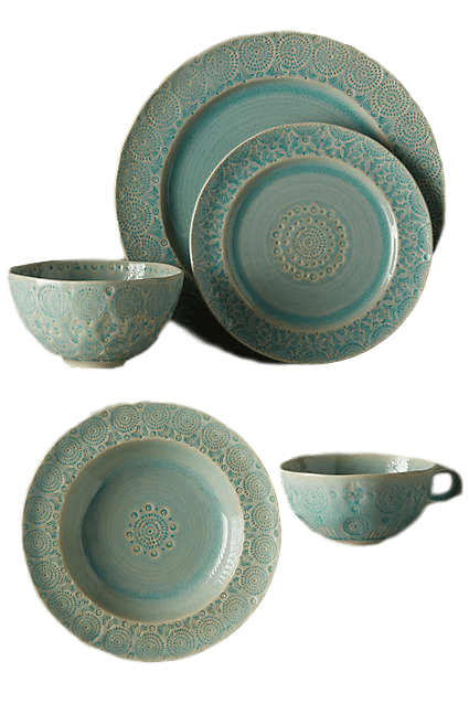 Old Havana Dish Set   Decorating Your Thanksgiving Table   Apartment Decorating