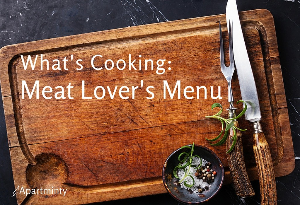 What's Cooking: Meat Lover's Menu