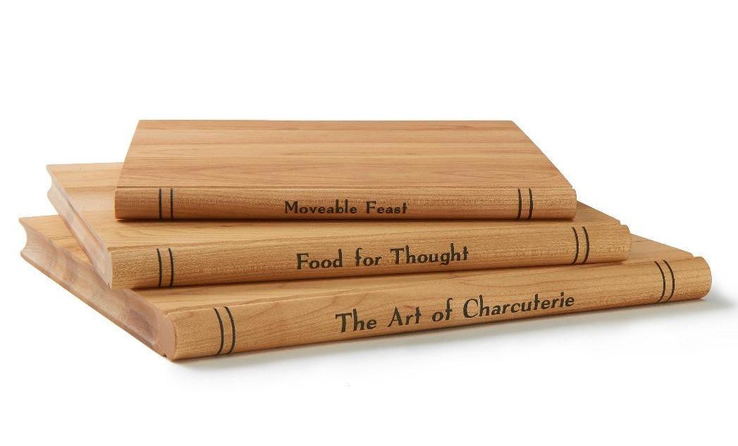 Holiday Gift Guide: Presents Fit For A Foodie | Book Cutting Board Set
