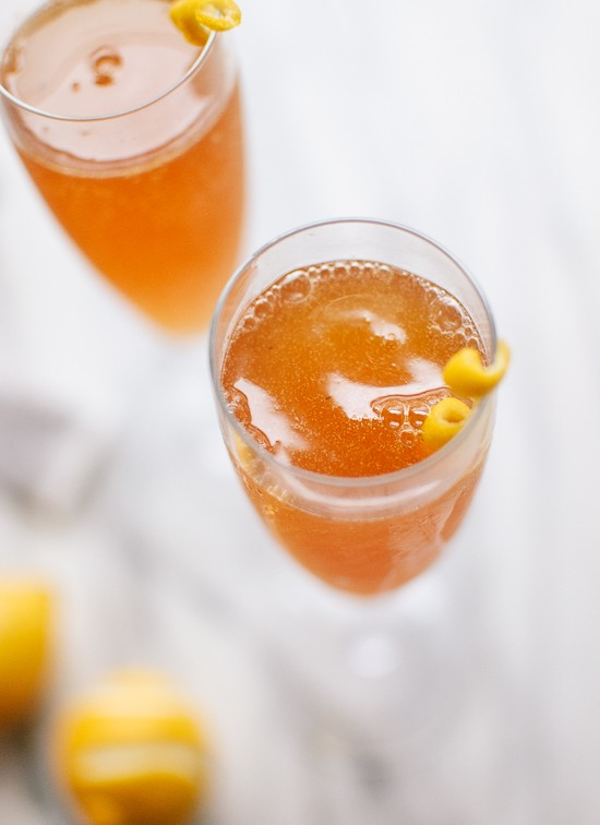 Festive Champagne Cocktails: Earl Grey French 75 | Hosting A Party In Your Apartment