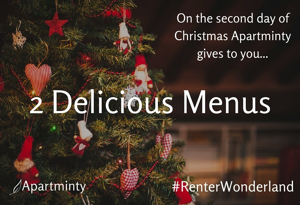 Renter Wonderland: 2 Delicious Menus