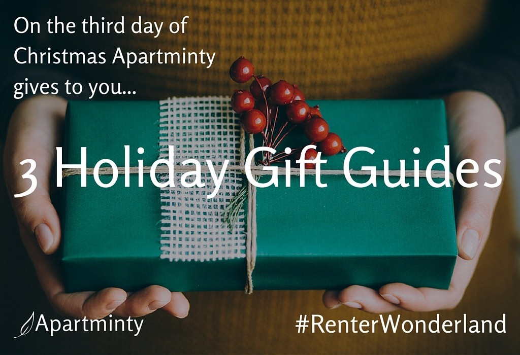 Renter Wonderland: 3 Holiday Gift Guides