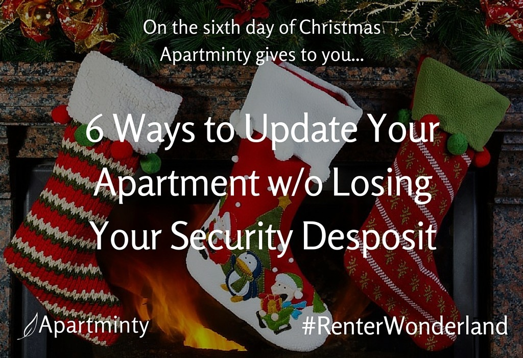 Renter Wonderland: 6th Day of Christmas