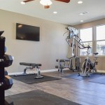 Vue Apartments Weight Room