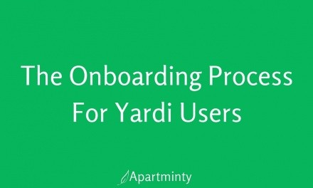 The Easy Onboarding Process For Yardi Users