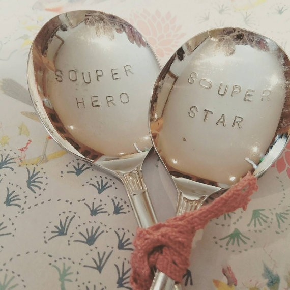 Apartment Decor | Cooking In Your Apartment | Souper Hero and Souper Star Soup Spoons