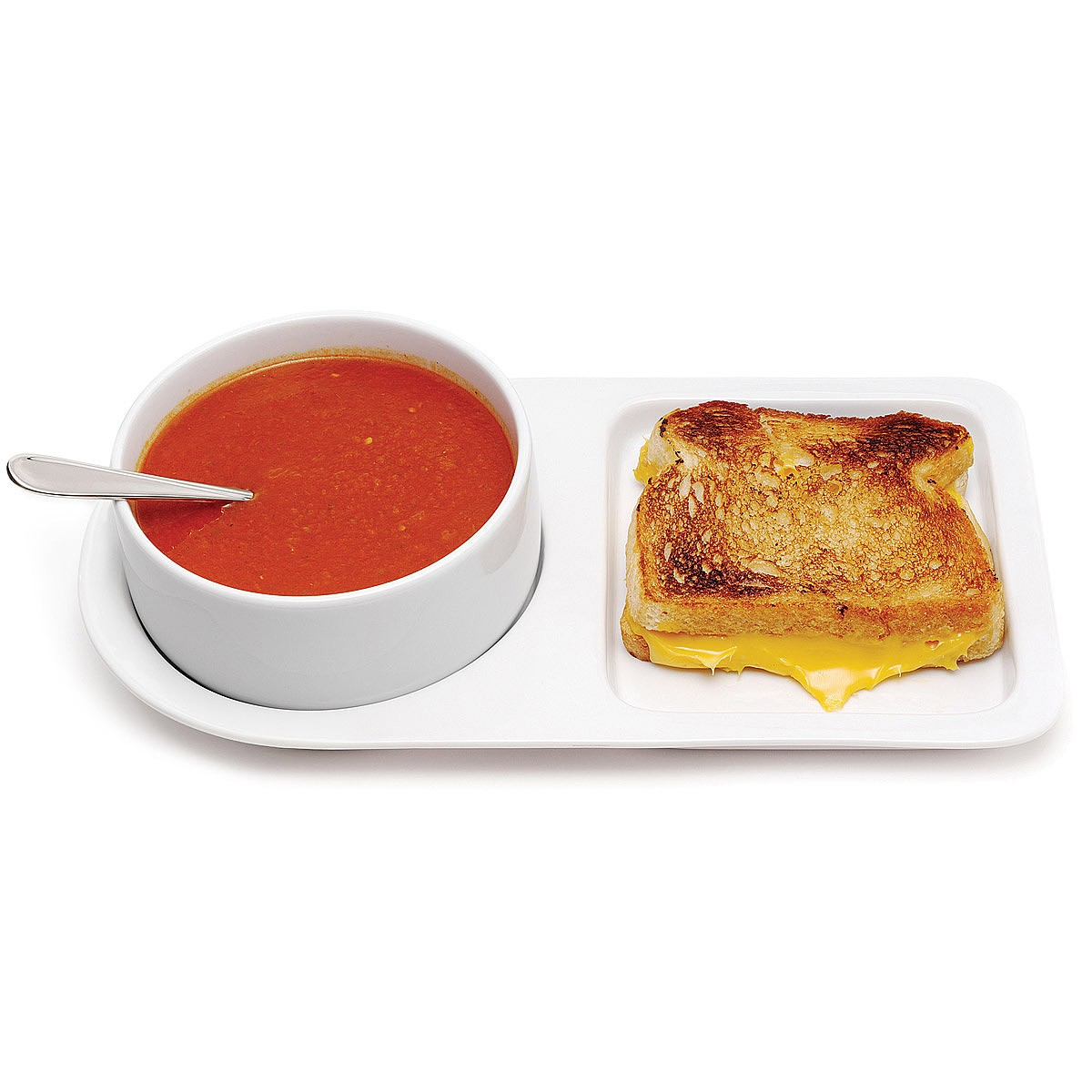 Apartminty Fresh Apartment Picks | Apartment Decor | Soup and Sandwich Ceramic Tray Duo