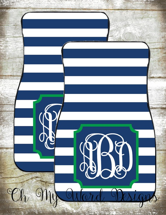 Winterize Your Life and Your Apartment | Monogrammed Car Mats