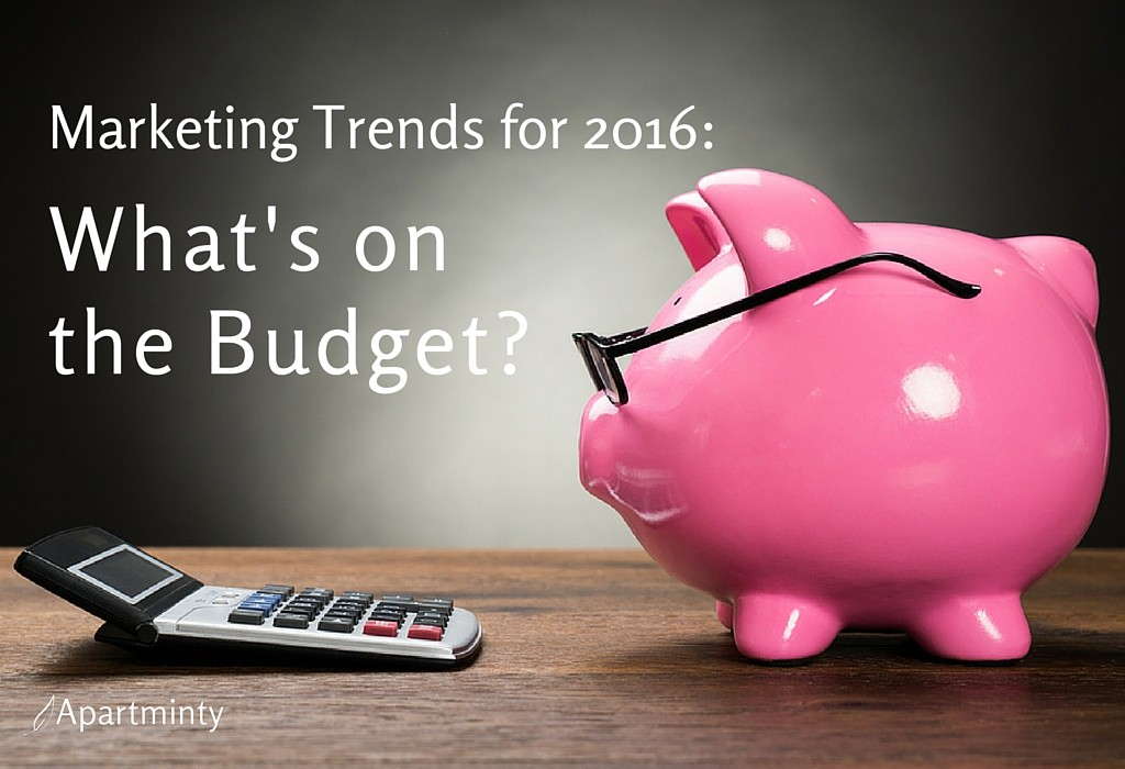 2016 Marketing Trends: What's on the budget