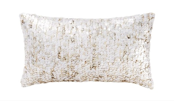 Apartment Accessories   Decorating Your Apartment   Overlay Sequin Pillow Cover