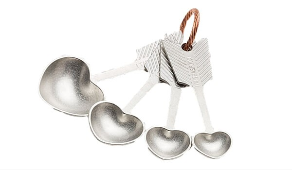 Valentine Gifts | Apartment Accessories | Heart Measuring Spoons