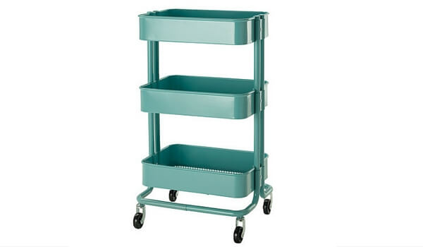 Small Space Storage Solutions For Your Apartment | RASKOG Utility Cart