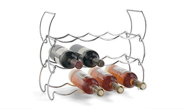 Small Space Storage Solutions For Your Apartment | Wine Bottle Stack Rack