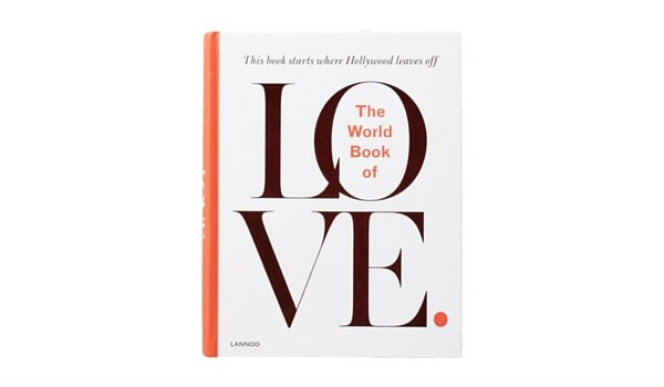 Valentine's Day Gifts | Decorating Your Apartment | The World Book Of Love Coffee Table Book