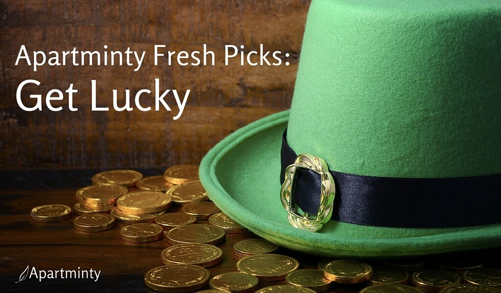 Apartminty Fresh Picks: Get Lucky | St. Patrick's Day Fun Finds