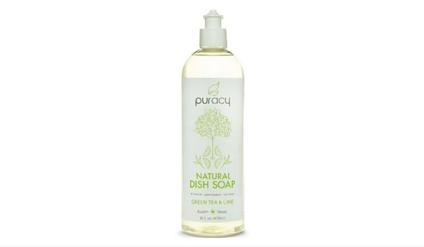 Puracy 100% Natural Liquid Dish Soap | Apartminty Fresh Picks: Go Green For Spring Cleaning