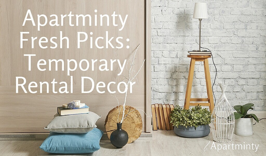 Apartminty Fresh Picks: Temporary Rental Decor | Removable Wall Treatments For Your Apartment