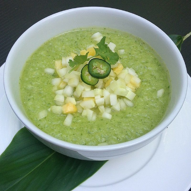 Our Favorite Spring Recipes | Pineapple Cucumber Gazpacho