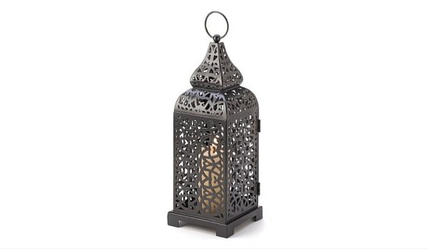 Apartminty Fresh Picks: Furnish Your Apartment Balcony For Summer | Moroccan Temple Tower Candle Lantern